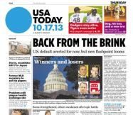 10/17/2013 Issue of USA TODAY
