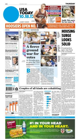 10/18/2012 Issue of USA TODAY