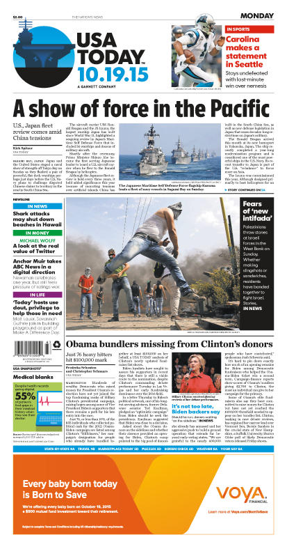 10/19/2015 Issue of USA TODAY