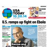 10/20/2014 Issue of USA TODAY