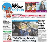 10/21/2013 Issue of USA TODAY