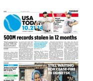 10/21/2014 Issue of USA TODAY