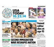 10/22/2014 Issue of USA TODAY
