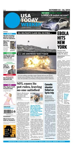 10/24/2014 Issue of USA TODAY