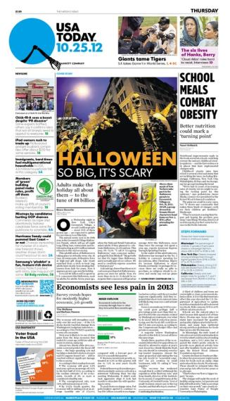 10/25/2012 Issue of USA TODAY