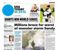 10/29/2012 Issue of USA TODAY