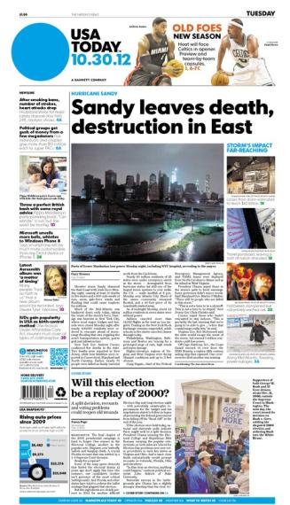 10/30/2012 Issue of USA TODAY