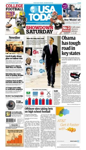 11/04/2011 Issue of USA TODAY