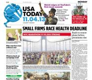 11/04/2013 Issue of USA TODAY