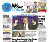 11/06/2013 Issue of USA TODAY