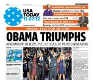11/07/2012 Issue of USA TODAY