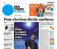 11/08/2012 Issue of USA TODAY