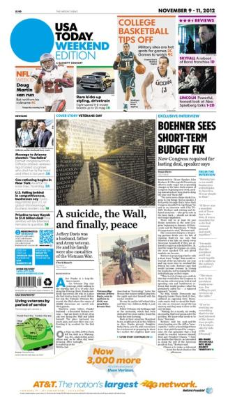 11/09/2012 Issue of USA TODAY