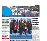11/11/2014 Issue of USA TODAY