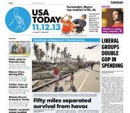 11/12/2013 Issue of USA TODAY