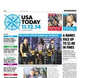11/12/2014 Issue of USA TODAY