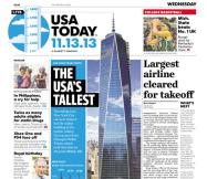 11/13/2013 Issue of USA TODAY