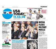 11/13/2014 Issue of USA TODAY
