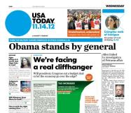 11/14/2012 Issue of USA TODAY