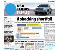 11/14/2013 Issue of USA TODAY
