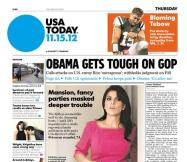 11/15/2012 Issue of USA TODAY