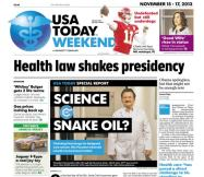 11/15/2013 Issue of USA TODAY