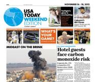 11/16/2012 Issue of USA TODAY