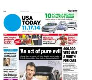 11/17/2014 Issue of USA TODAY