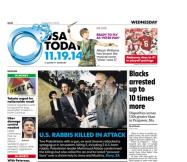 11/19/2014 Issue of USA TODAY