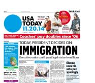 11/20/2014 Issue of USA TODAY