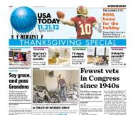 11/21/2012 Issue of USA TODAY