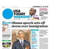 11/21/2014 Issue of USA TODAY