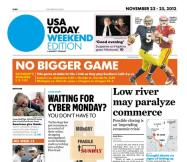 11/23/2012 Issue of USA TODAY