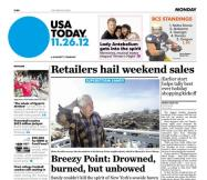 11/26/2012 Issue of USA TODAY
