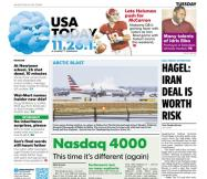 11/26/2013 Issue of USA TODAY