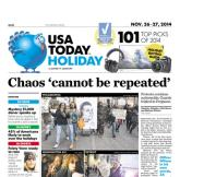 11/26/2014 Issue of USA TODAY