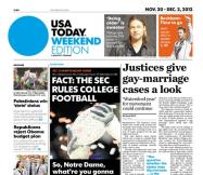 11/30/2012 Issue of USA TODAY