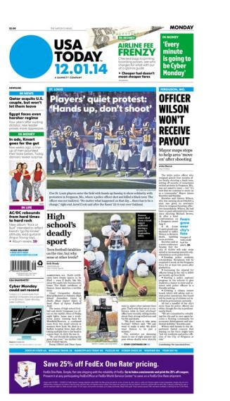 12/01/2014 Issue of USA TODAY
