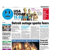 12/03/2014 Issue of USA TODAY