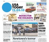12/05/2013 Issue of USA TODAY