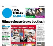 12/08/2014 Issue of USA TODAY