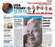 12/10/2013 Issue of USA TODAY