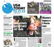 12/11/2013 Issue of USA TODAY
