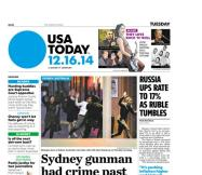 12/16/2014 Issue of USA TODAY