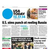 12/17/2014 Issue of USA TODAY