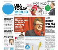12/18/2013 Issue of USA TODAY