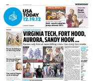 12/19/2012 Issue of USA TODAY