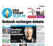 12/22/2014 Issue of USA TODAY