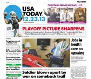 12/23/2013 Issue of USA TODAY