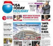 12/24/2013 Issue of USA TODAY